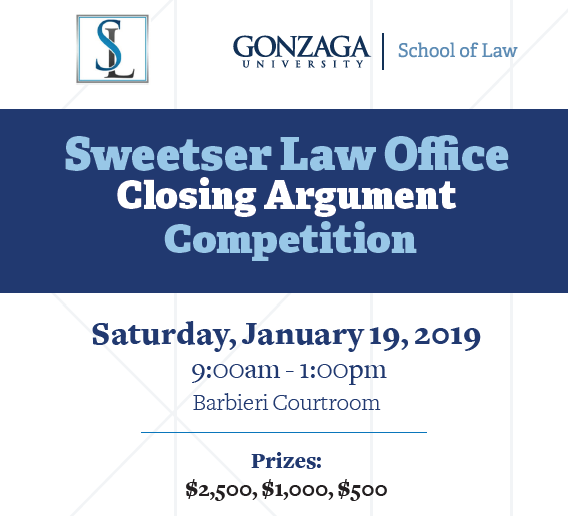 Sweetser Closing Argument Competition